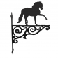 Horse Andalusian Horse  Ornamental Hanging Bracket