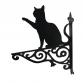 Cat Playing Ornamental Hanging Bracket