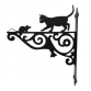 Cat & Mouse Ornamental Bracket