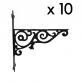 Ornamental Hanging Bracket - Ten Pack