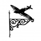Spitfire Ornamental Hanging Bracket