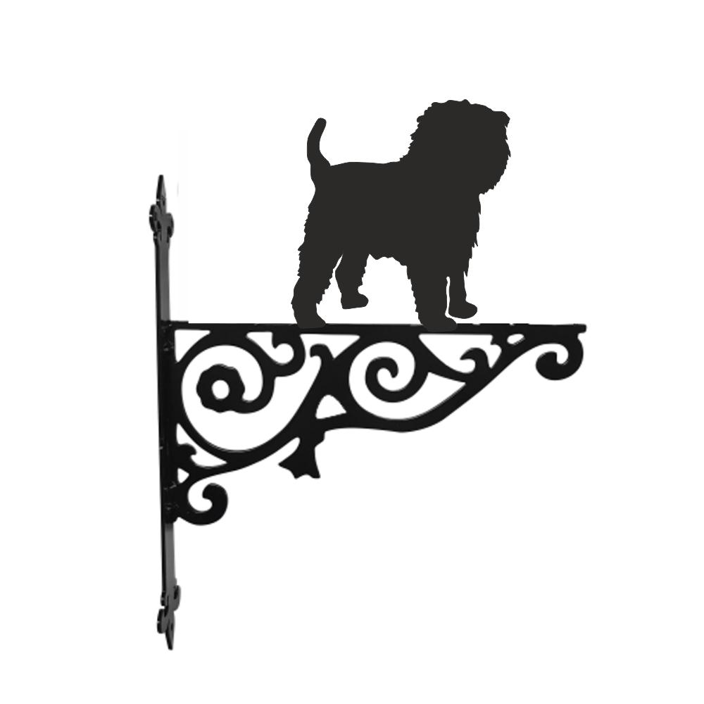 British Bulldog Metal Ornamental Hanging Bracket