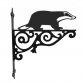 Badger Ornamental Hanging Bracket