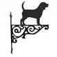 Beagle Ornamental Hanging Bracket