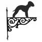 Bedlington Terrier Ornamental Hanging Bracket