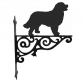 Bernese Mountain Dog Ornamental Hanging Bracket