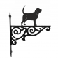 Bloodhound Ornamental Hanging Bracket