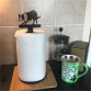 Border Collie Kitchen Roll Holder