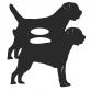 Border Terrier Garden Planter