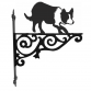 Border Collie Ornamental Hanging Bracket