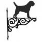 Border Terrier Ornamental Hanging Bracket