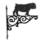 British Bulldog Ornamental Hanging Bracket