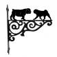 British Bulldog & Pug Hanging Bracket
