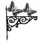 Butterfly Ornamental Hanging Bracket