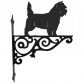 Cairn Terrier Ornamental Hanging Bracket