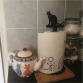 Cat Kitchen Roll Holder