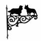Cavalier KC Spaniel & French Bulldog Hanging Bracket