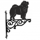 Chow Chow Ornamental Hanging Bracket