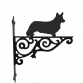 Corgi Cardigan Ornamental Hanging Bracket