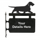 Dachshund Wire Haired Hanging Sign