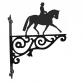 Dressage Horse Ornamental Hanging Bracket