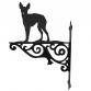 English Toy Terrier Ornamental Hanging Bracket