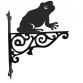 Frog Ornamental Hanging Bracket