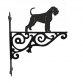 Giant Schnauzer Ornamental Hanging Bracket