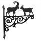 Goat Ornamental Hanging Bracket