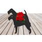 Irish Terrier Garden Planter