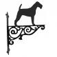 Irish Terrier Ornamental Hanging Bracket