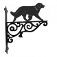 Leonberger Ornamental Hanging Bracket