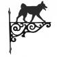 Norwegian Buhund Ornamental Hanging Bracket
