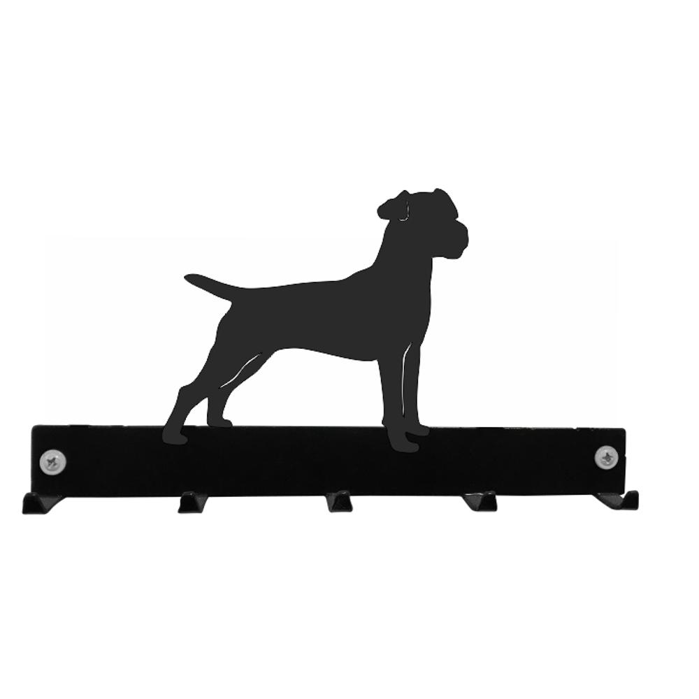 Steel Images Patterdale Terrier Key Hooks