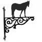 Pony Ornamental Hanging Bracket