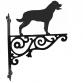 Rottweiler Ornamental Hanging Bracket