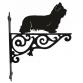 Skye Terrier Ornamental Hanging Bracket