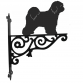 Tibetan terrier Ornamental Hanging Bracket