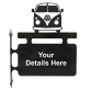VW Camper Hanging Sign