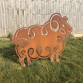 Sheep Garden Art
