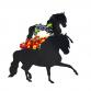 Horse Andalusian Horse Garden Planter