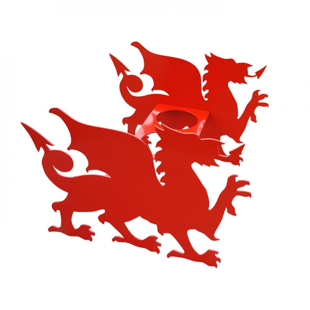 Welsh Dragon Garden Planter
