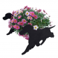 Cocker Spaniel On The Move Garden Planter