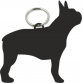 Boston Terrier Key Ring Fob