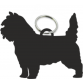 Cairn Terrier Key Ring Fob