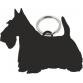 Scottish Terrier Key Ring Fob