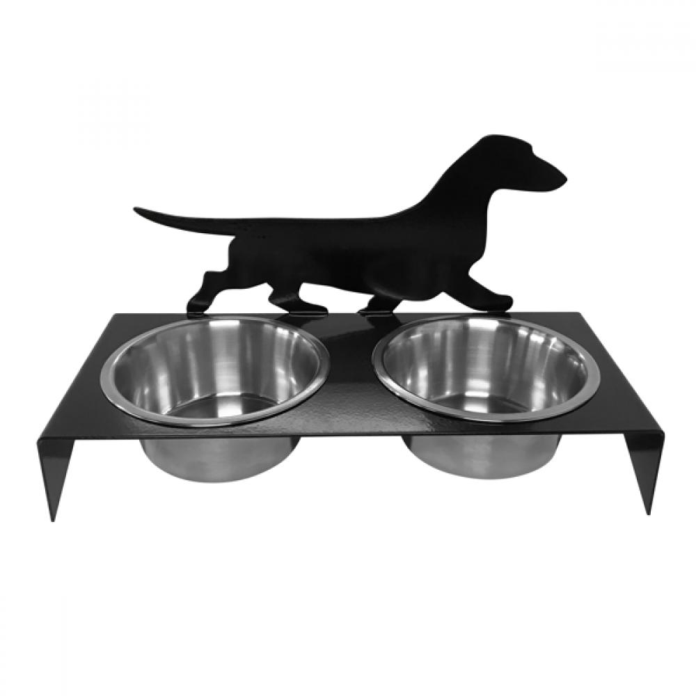 Dachshund Smooth Pet Bowl Stand Pet Food Holder Ebay