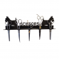 Scottie Dog Single Scissor Rack