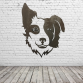 Border Collie Head Wall Art