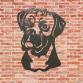 Boxer Dog Head Wall Art